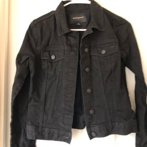 Banana Republic Black Jean Jacket